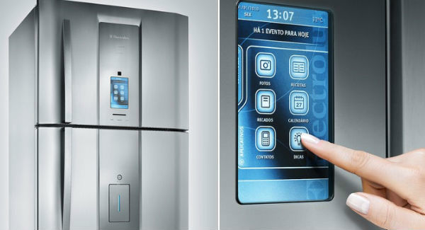 Холодильник Electrolux на Linux