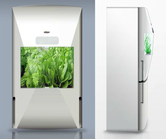 Холодильник-Теплица от Whirlpool