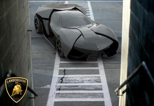 Концепт гибридного автомобиля Lamborghini Ankonian