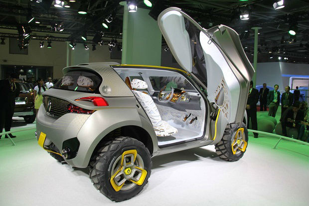 Гибридный концептуальный кроссовер Renault Kwid