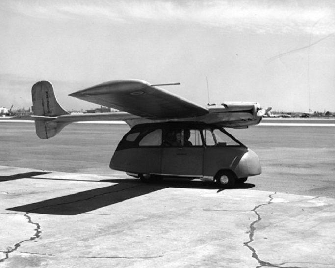 Летающее авто