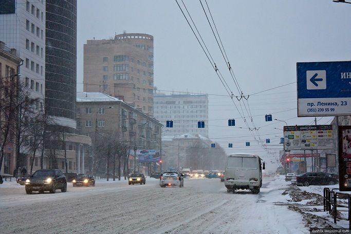 Климат Челябинска