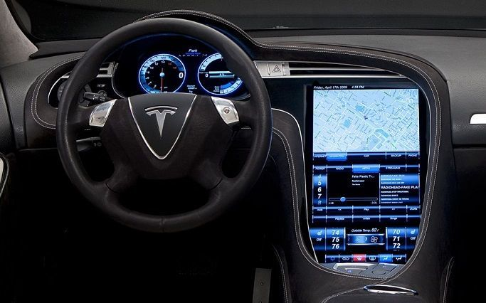 Тесла электромобиль