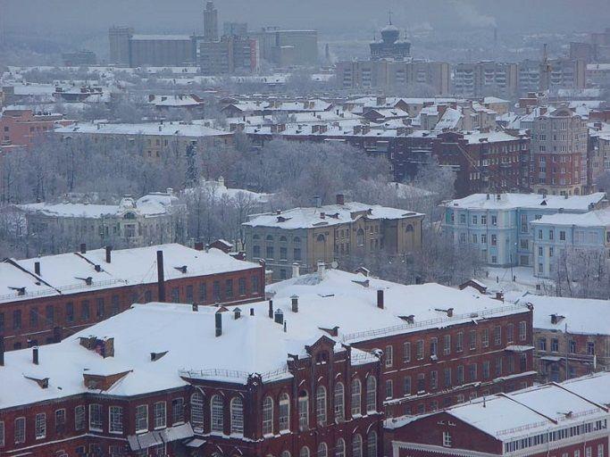 Зима в Иваново