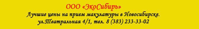 баннер Эко Сибирь