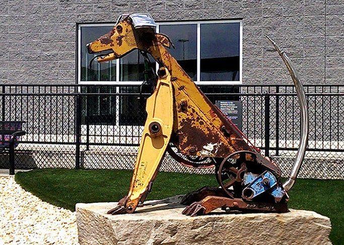 Скульптура из металла