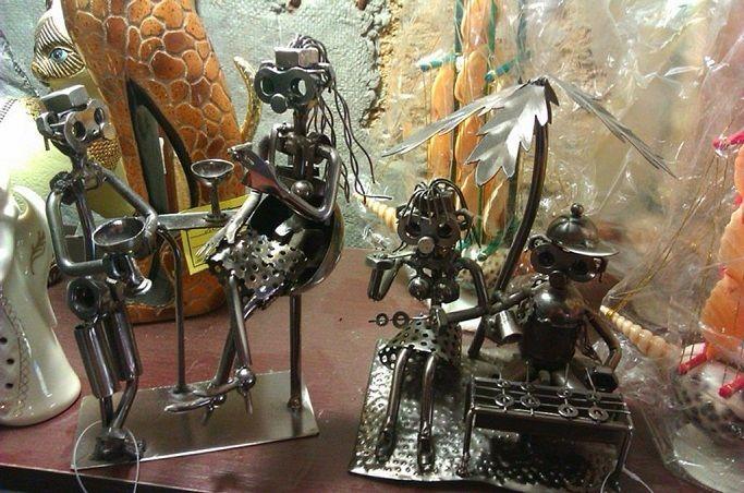 статуетки из металла своими руками