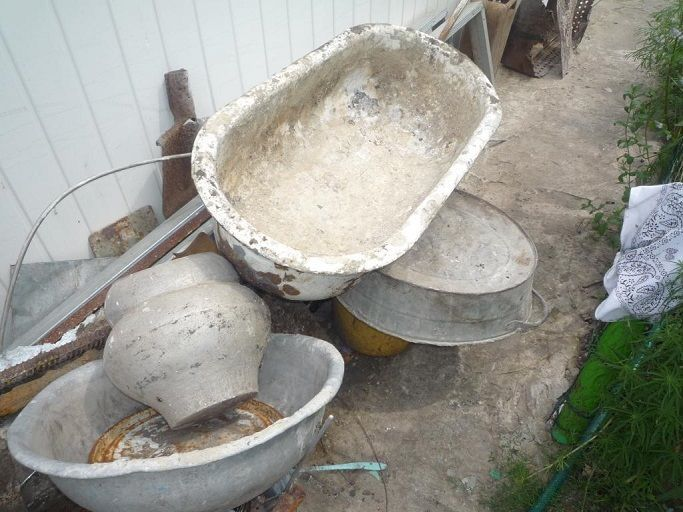 ванна чугунная на металлолом