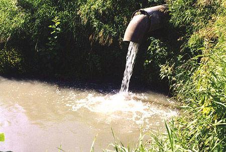 сточными водами