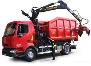 Грузовой транспорт для перевозки металлолома