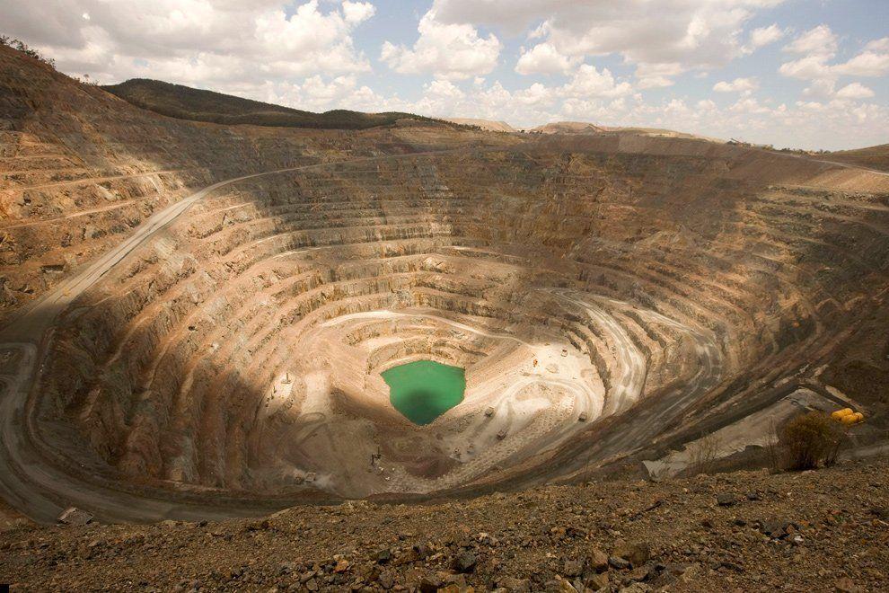 Разработка рудников по добычи меди и других металлов