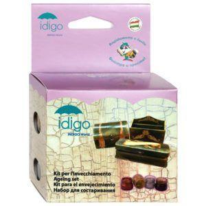 Набор для состаривания поверхностей медных изделий фирмы Idigo