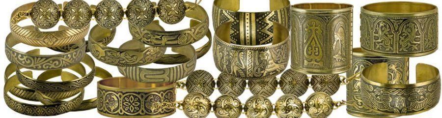Славянские украшения из меди