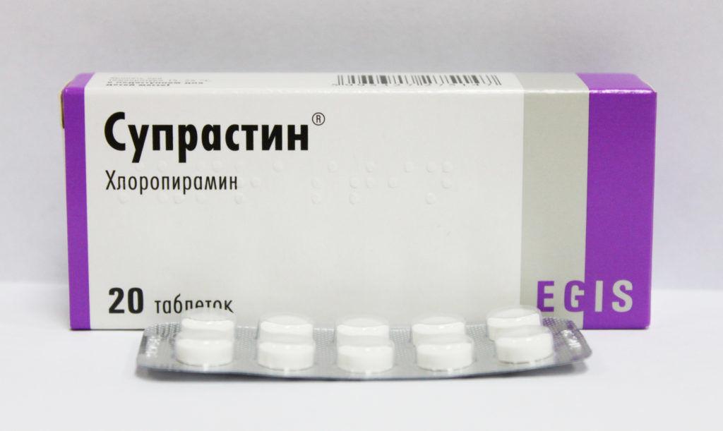 Антигистаминные препараты Супрастин