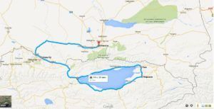 Автомобильные маршруты на Иссык-Куль