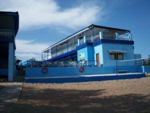 База отдыха Голубая лагуна на озере Балхаш