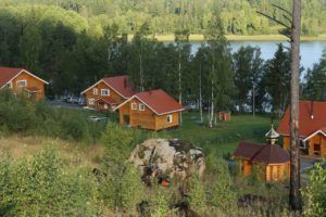 Хутор Соромяки расположился в одном из красивейших фьордов Ладожского озера