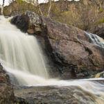 Нижняя ступень Гадельша Пейзаж водопада Гадельша