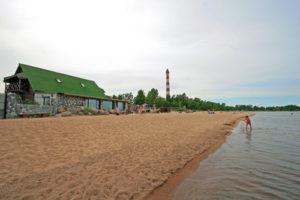 Пляжный отдых на ладожском озере
