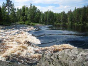 Река Шуя в Карелии