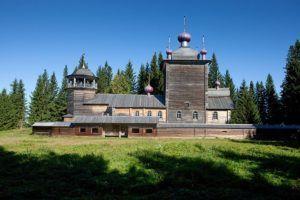 Центральное место парка – Ильинский Погост
