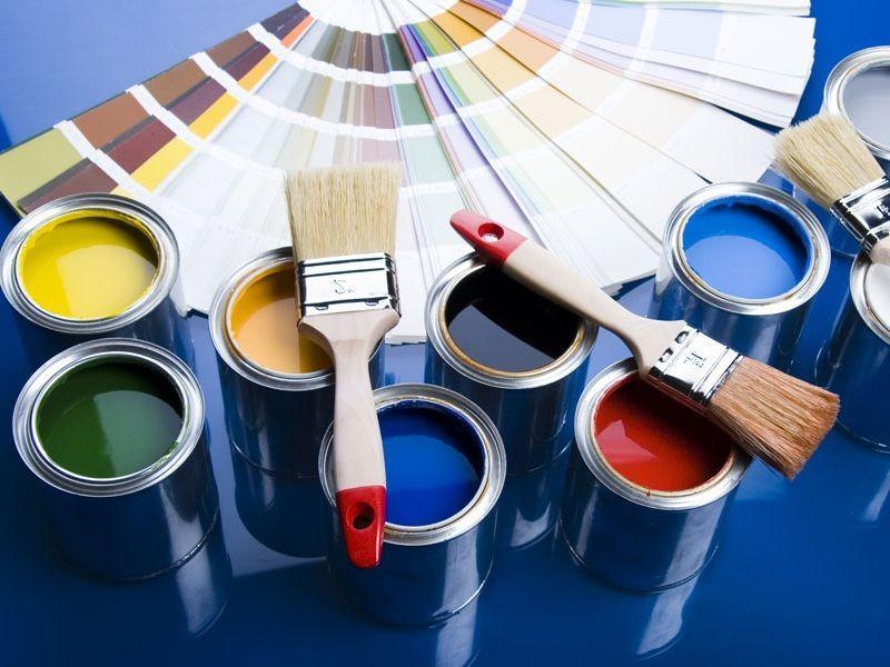 Цветовая гамма акриловой краски позволит изобразить все цвета радуги