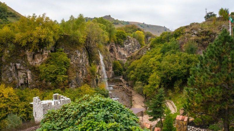 Теперь доступен виртуальный 3D тур на Медовые водопады