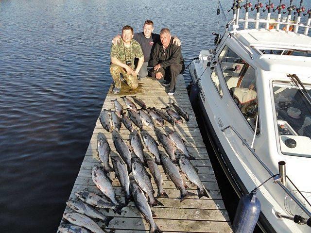 как ловить на онежском озере