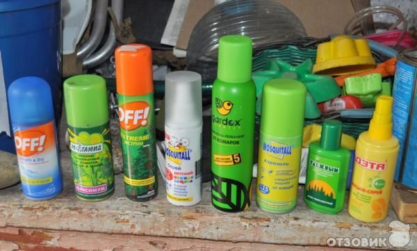 Аэрозоли от насекомых