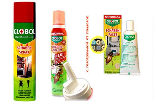Ассортимент продукции Globol