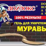 Дохлокс (гель от муравьёв и тараканов)