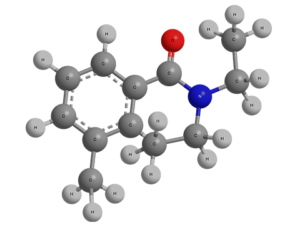 Формула диэтилтолуамида