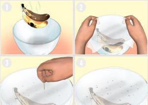 Изготовление простой ловушки из миски