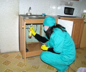 Обработка квартиры инсектицидами