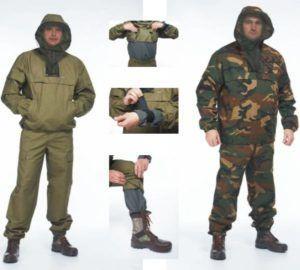 Одежда для природы (обеспечивает защиту от клещей, комаров и мошек)