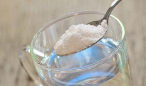 Приготовлние раствора соды