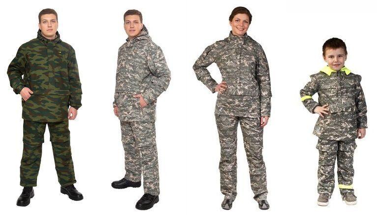 Противомоскитные костюмы для всей семьи