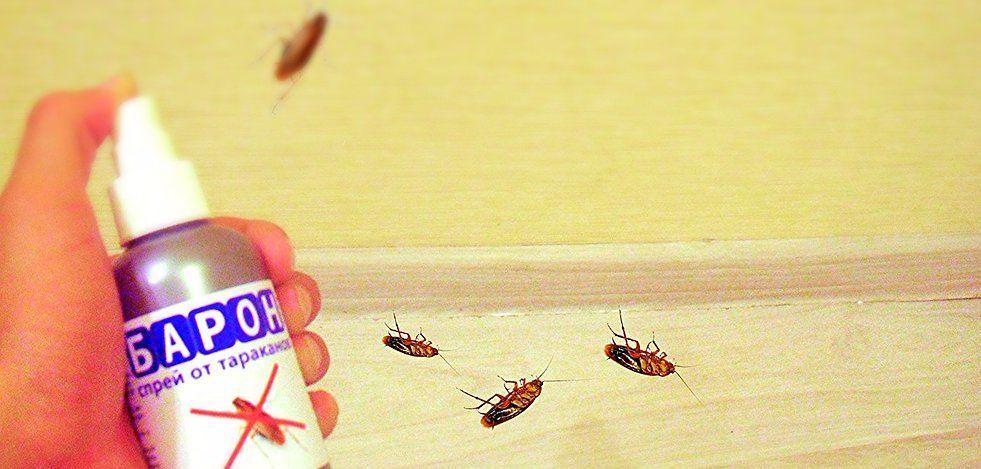 Спрей от тараканов Барон