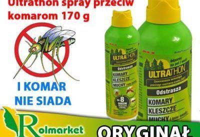 Аэрозоль UltraThon защитит вас от насекомых