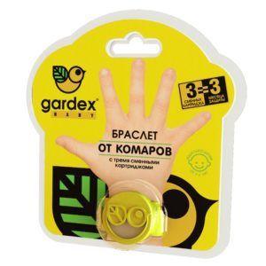 Браслет бренда Gardex защитит ваших детей на природе от комаров
