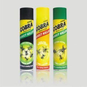 Cobra спрей от ползающих насекомых