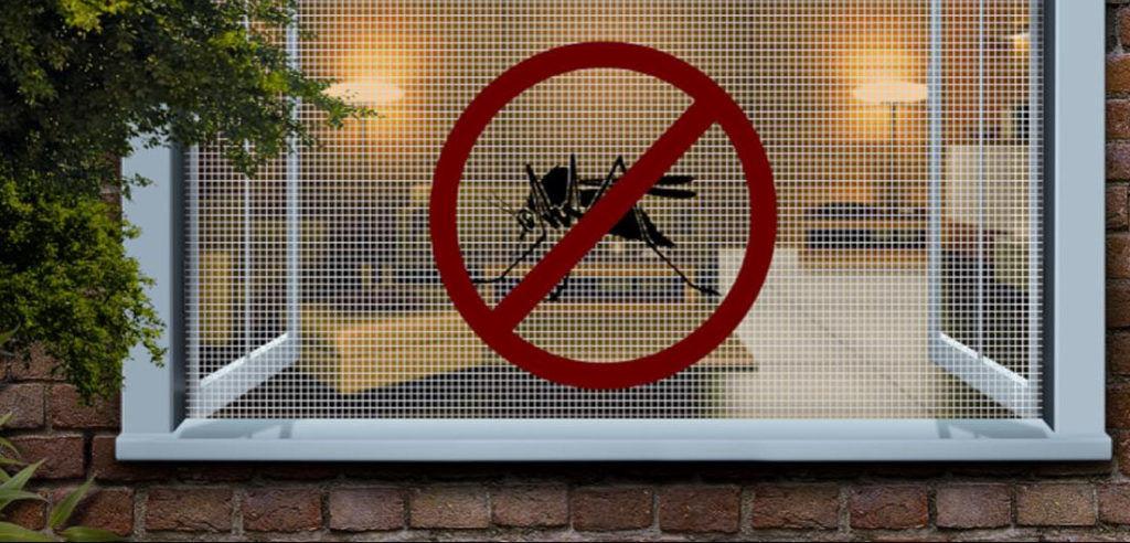 Москитные сетки для защиты себя от мошек дома