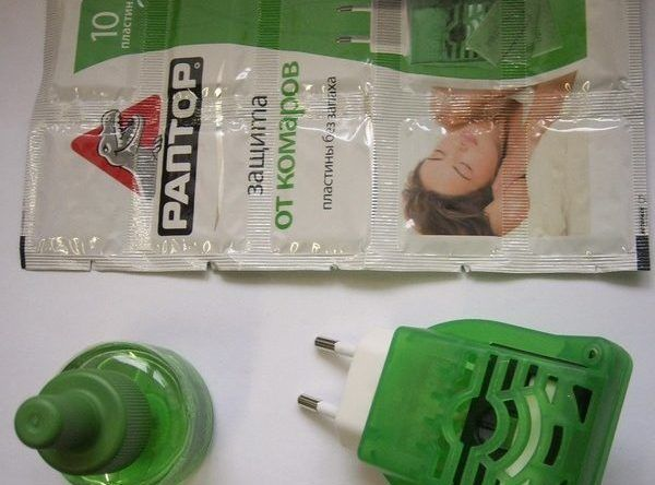 Пластинки и жидкость для фумигатора