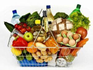 Продукты питания обязательно убрать с помещения