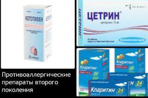 Противоаллергические лекарственные препараты от снятия зуда при укусах насекомых