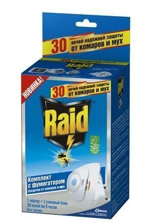 Средство от тараканов Raid