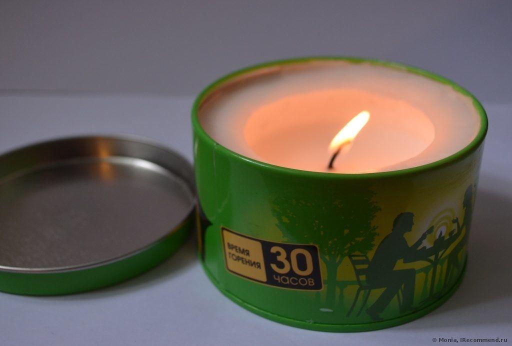 Свеча от комаров Gardex