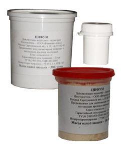 ЦИФУМ пиротехнический инсектицидный аквафумигатор