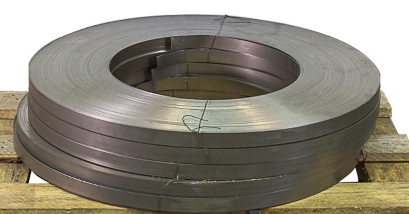 лента стальная упаковочная