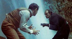 Как снимали драку Холмса и Мориарти в Абхазии возле Гегского водопада